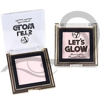W7 Lets Glow Highlighting Illuminating Pressed Powder