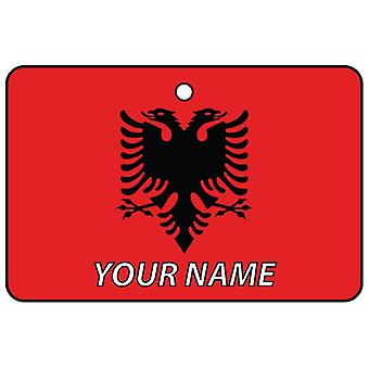 Albania Flag Custom Car Air Freshener