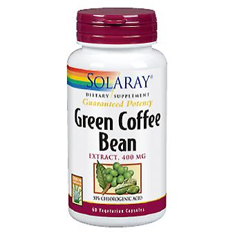 Solaray Green Coffe Extract 400 mg 60 Capsules Vegetable (Diet , Supplements)