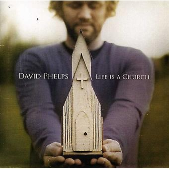 David Phelps - livet er en kirke [CD] USA import