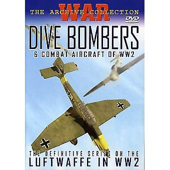 Dive Bombers & Combat Aircraft of WWII [DVD] USA import