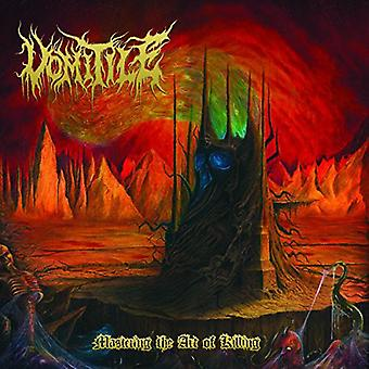 Vomitile - Mastering the Art of Killing [CD] USA import