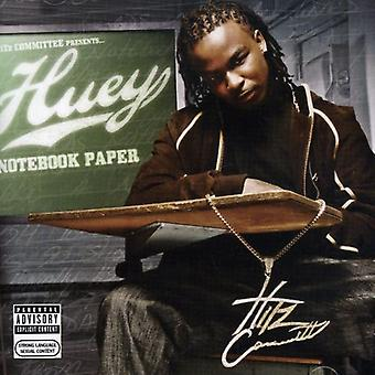 Huey - Notebook Paper [CD] USA import