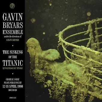 Gavin Bryars - The forliset af Titanic: Bourges 12/13.4.1990 [CD] USA import