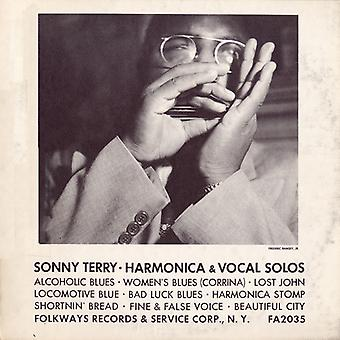Sonny Terry - Sonny Terry-Harmonica & Vocal Solos [CD] USA import
