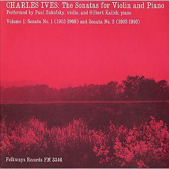 Zukofsky/Kalish - Charles Ives: Sonate per violino e pianoforte, vol. 1 (importare Sonatas nos. 1 & USA 2) [CD]