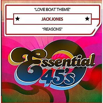 Jack Jones - Love Boat Theme / Reasons [CD] USA import