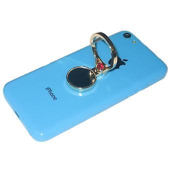 KuKu mobiltelefon mobiltelefon Finger Ring står indehaveren m / spejl - guld