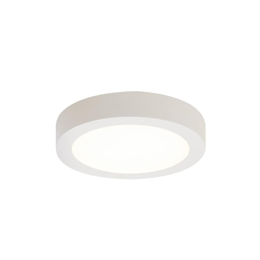 Ansell Freska Surface LED Downlight chaud blanc 18W LED blanche
