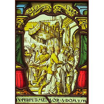 Hans The Younger - Christ Judged Poster Print Giclee