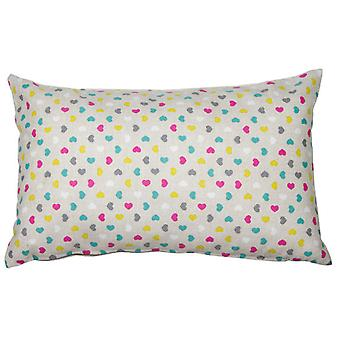 Wellindal Cojín Cuore rosa (Home , Textile , Cushiones)