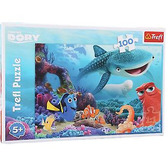 Legler Finding Dory Puzzle 100 Pieces (Toys , Boardgames , Puzzles)
