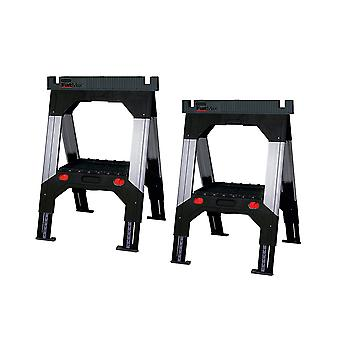 Stanley 1-92-980 FatMax Telescopic Saw Horse Twin Pack