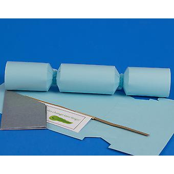Single MINI Pale Blue Make & Fill Your Own Cracker Making Craft Kit