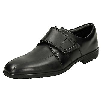 Boys Clarks Bootleg School Shoes Willis Time