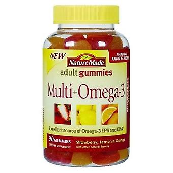 Nature Made Multi + Omega-3 Fruit Gummies