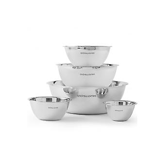 Andrew James 5 Piece Mixing Bowl Set