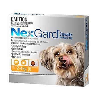 NexGard 6 Pack for Dogs 2-4 kgs