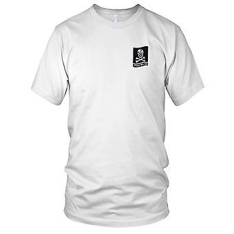 US Navy VF-103 ricamato Patch - combattimento 103 Jolly Rogers-bandiera Mens T Shirt
