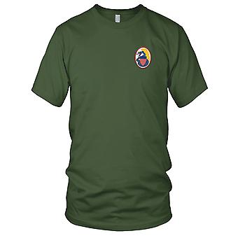 US Navy VF-123 Embroidered Patch - The Blue Racers Mens T Shirt