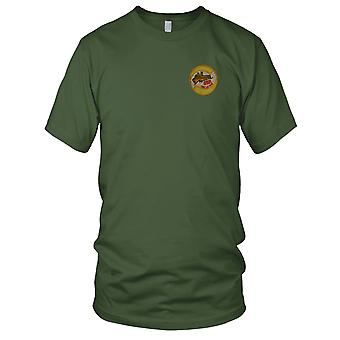 USN Navy Harbor Security Chu Lai PROLIBERATE - Insignia Vietnam War Embroidered Patch - Mens T Shirt
