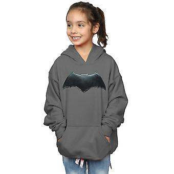DC Comics Girls Justice League Movie Batman Emblem Hoodie