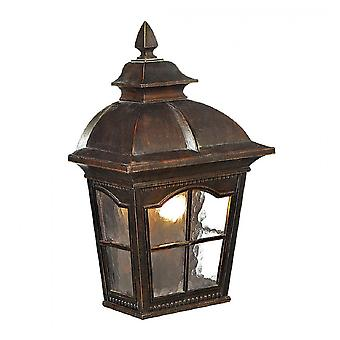 Searchlight 1576BR Pompeii One Light Wall Light In Bronze