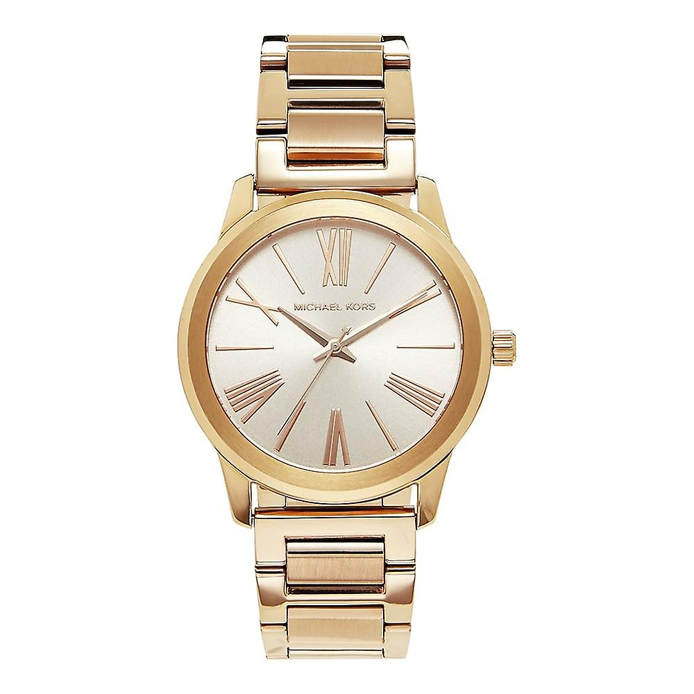 Michael Kors Watches Mk3491 Hartman Rose Gold Stainless Steel Ladies Watch