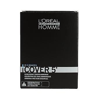 L'Oreal Homme Cover 5' Grey Cover No 3 Dark Brown 3 x 50ml
