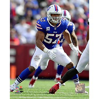 Lorenzo Alexander 2017 Action Photo Print