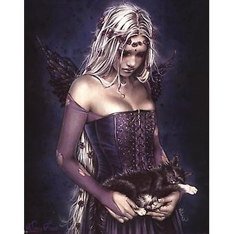 Ángel de la muerte Poster cartel impresión por Victoria Frances