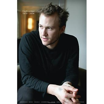 Heath Ledger Portrait - 1979-2008 Poster Poster Print