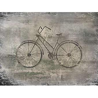 Bicycle Poster Print by Marla Rae (16 x 12)