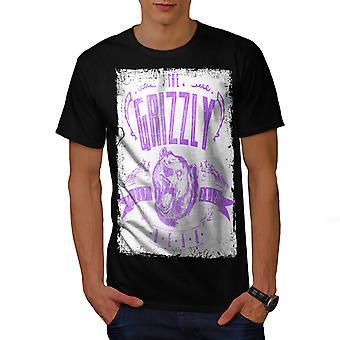Grizzly Bear Club Männer BlackT-t-Shirt   Wellcoda