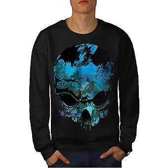Nature Metal Rock Men BlackSweatshirt | Wellcoda