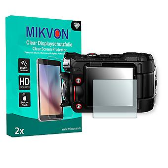 Olympus TG-Tracker Screen Protector - Mikvon Clear (Retail Package with accessories)