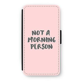iPod Touch 6 Flip Case - Morning person