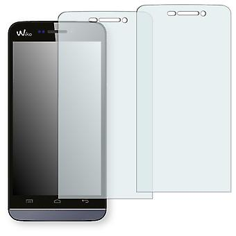 WIKO wax display protector - Golebo crystal clear protection film