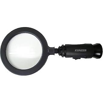 Handheld magnifier incl. LED lighting Lens size: (Ø) 90 mm Blac