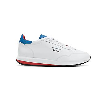 Ghoud men's G02MLLWB White leather of sneakers
