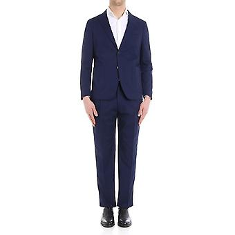 The Gigi ANGIEH246750 Blau mens polyester suits