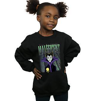Disney Girls Sleeping Beauty Maleficent Montage Sweatshirt