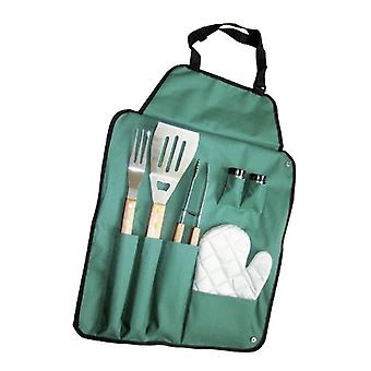 Papillon Set 6 piece papillon barbecue with apron (Garden , Barbecues)