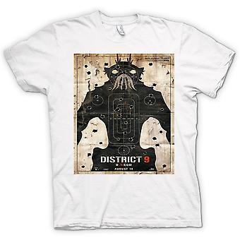 Mens T-shirt - District 9 - Alien - UFO - B Movie