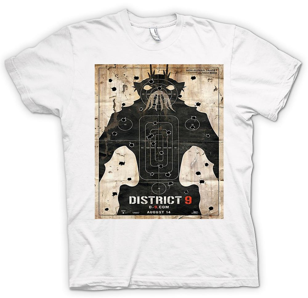 Mens t-skjorte - District 9 - Alien - UFO - B-film