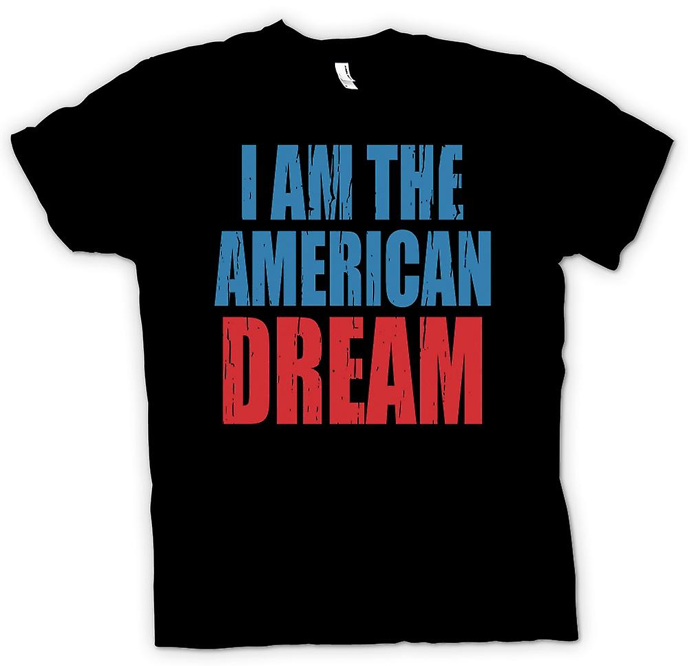 Mens T-shirt - I Am The American Dream - Funny
