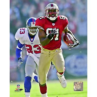Terrell Owens 2002 Action Photo Print