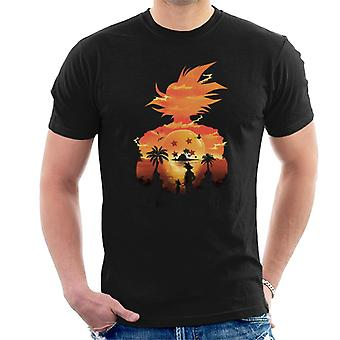 Dragon Ball Z Namek Sunset Men's T-Shirt