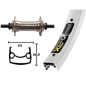 Bike parts 26″ wheel Exal XL 25 + standard aluminium hub (solid axle)
