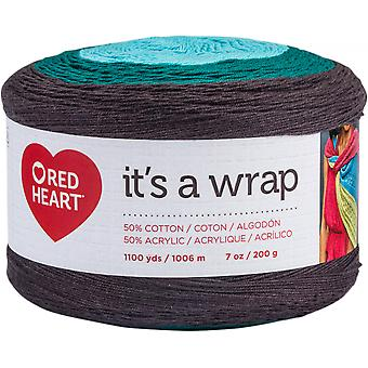 Red Heart It's A Wrap Yarn-Action